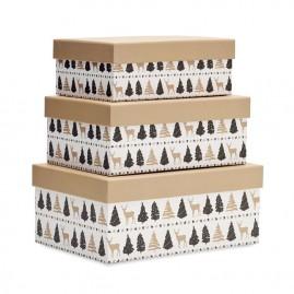 Drewniana skrzynka na wino-...